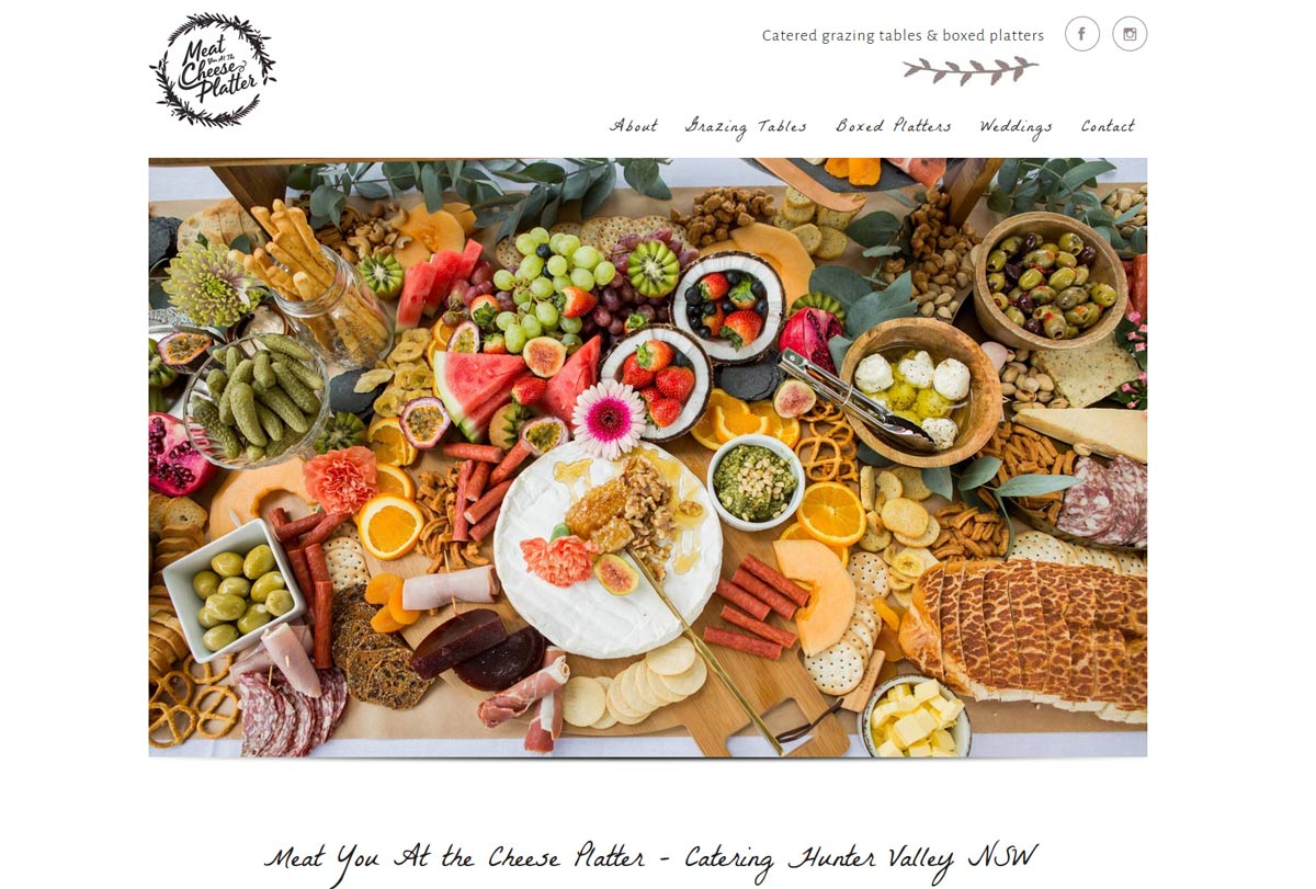 catering website design for myatcp
