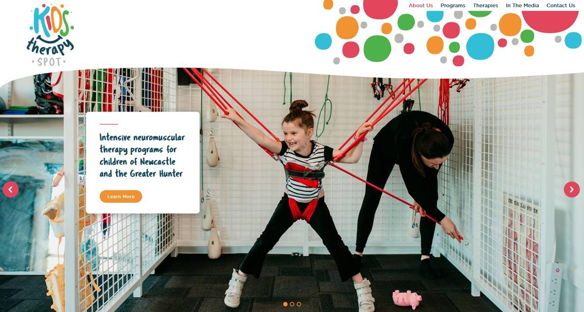 website design Newcastle - bright websites for kids health